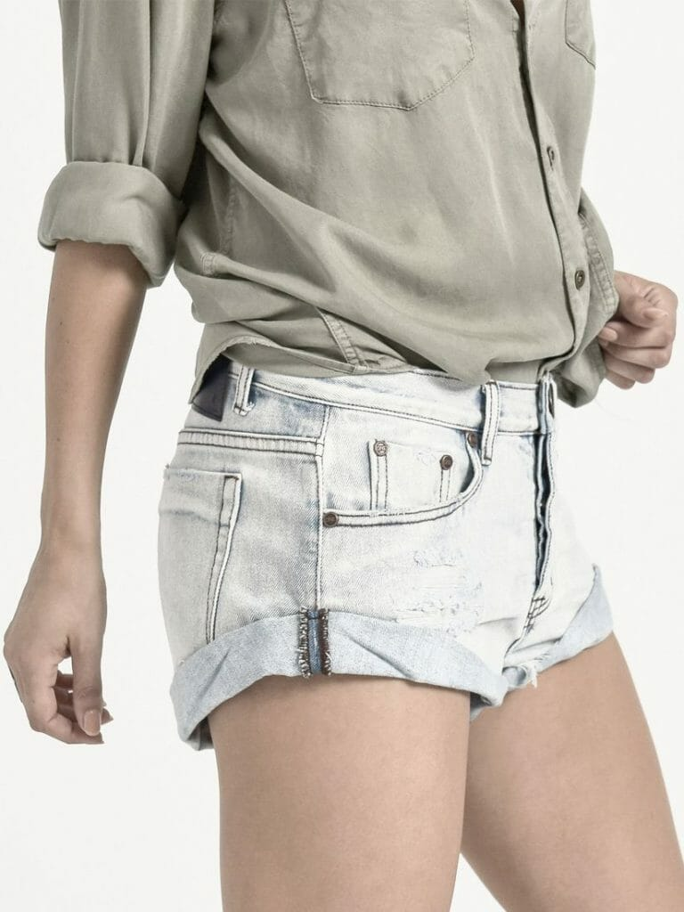 Antique Bandits Denim Short  2