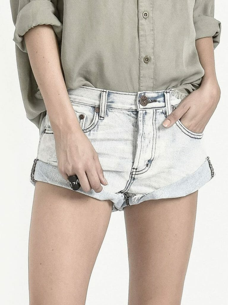 Antique Bandits Denim Short 4