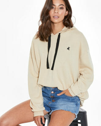 Bowerbird Double Knit Hoodie 1