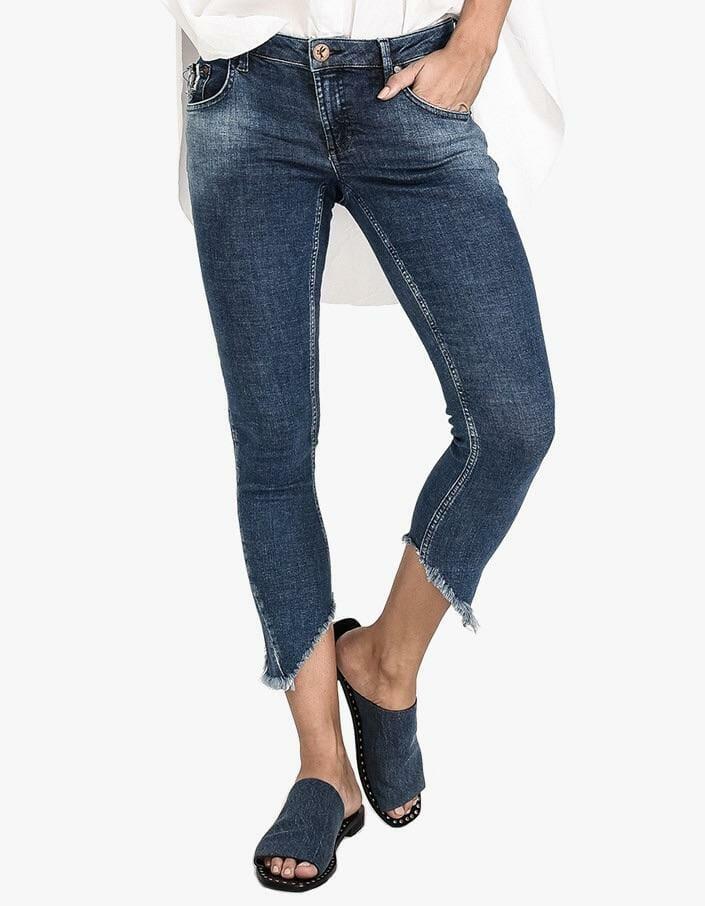Cali Blue Freebirds Ii Low Waist Skinny Jean 1