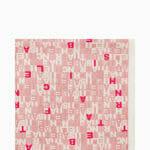 Szal apaszka z literowym printem - Elisabetta Franchi