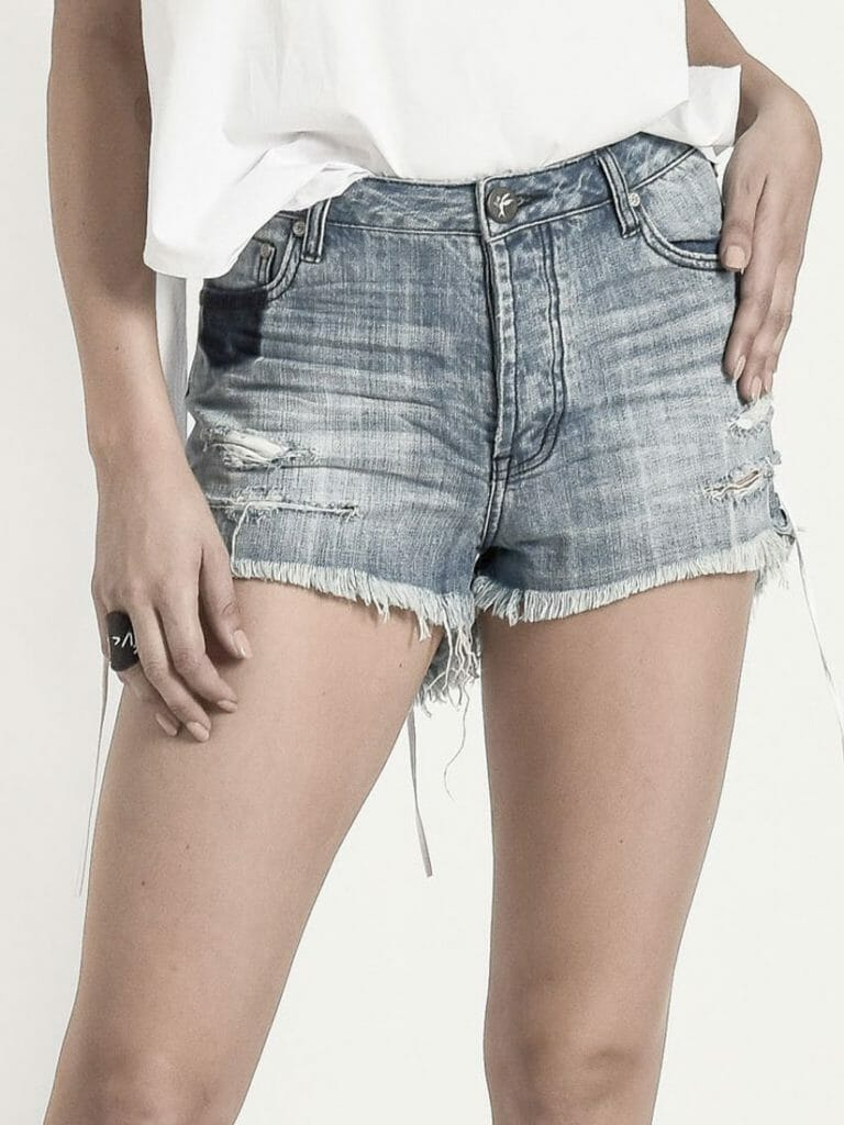 ORIGINAL BLUE BONITA HIGH WAIST DENIM SHORT