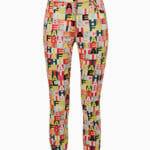 Spodnie z literowym printem - Elisabetta Franchi