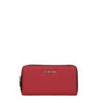 Portfel damski czerwony - Love Moschino