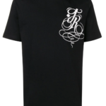 Czarny t-shirt Kennington - John Richmond
