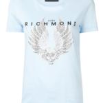 T-shirt z cekinami (2 kolory) - John Richmond