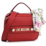 Torebka czerwona z apaszką - Love Moschino