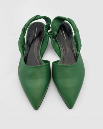 buty liviana conti zielone skora 1
