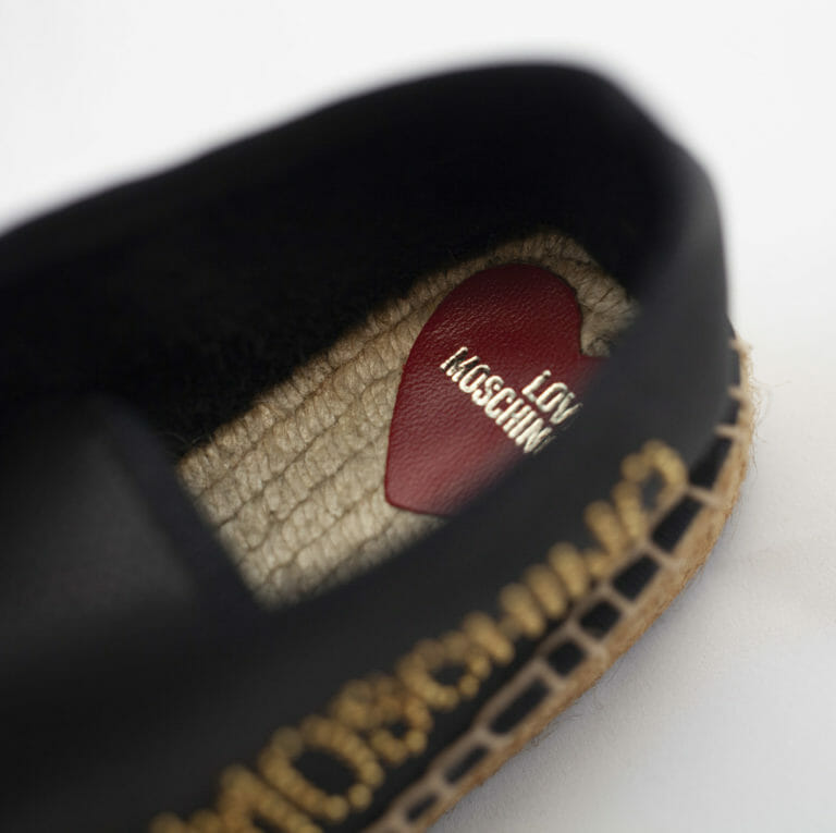 czarne buty love moschino damksie