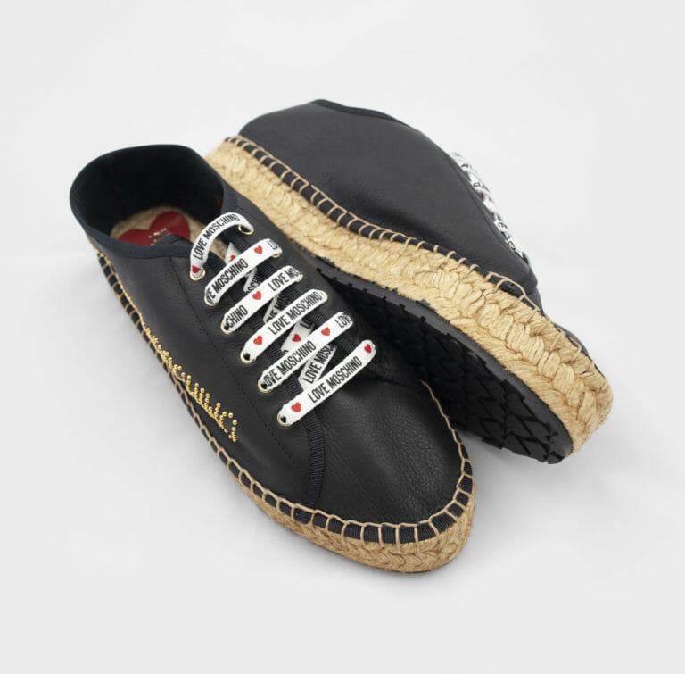 czarne buty love moschino damskie 2