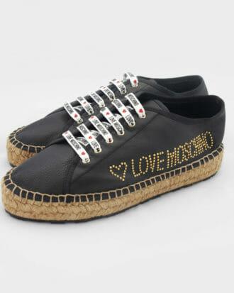 czarne buty love moschino damskie 3