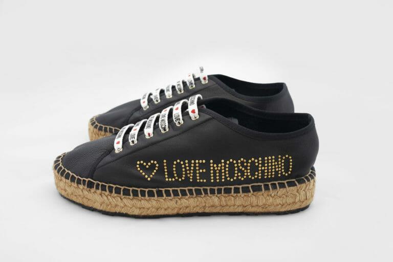 czarne buty love moschino damskie