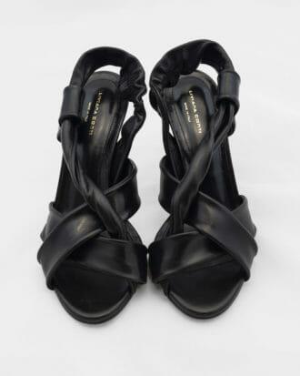 liviana conti czarne buty na obcasie 1