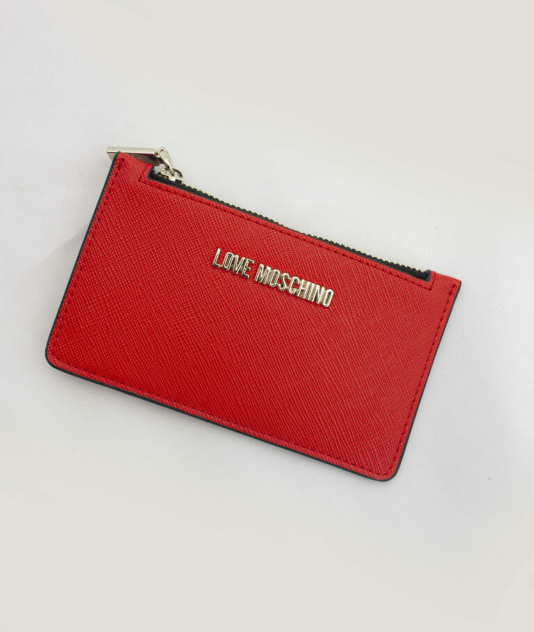 love moschino portfel czerwony 2