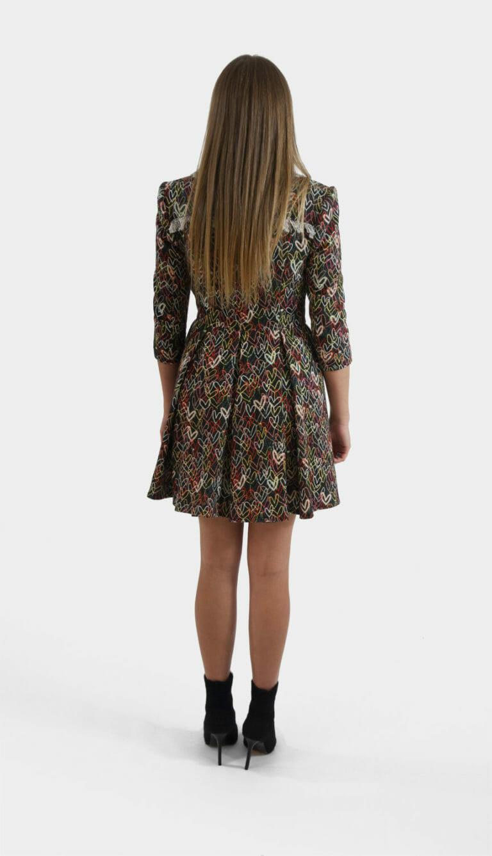 sukienka elisabetta franchi gruby material 1
