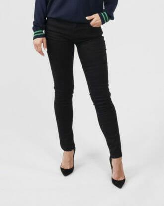jeansy czarne spodnie versace jeans couture