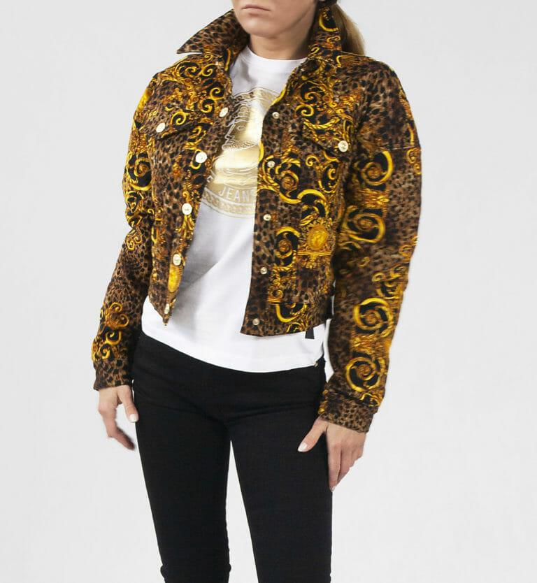 kurtka damska versace jeans couture