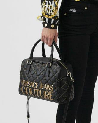 torba versace jeans couture skorzana czarna 1