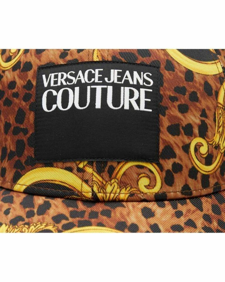 Czapka z barokowym printem Versace Jeans Couture 2