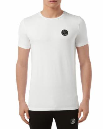 T shirt z okrągłym logo Plein Sport