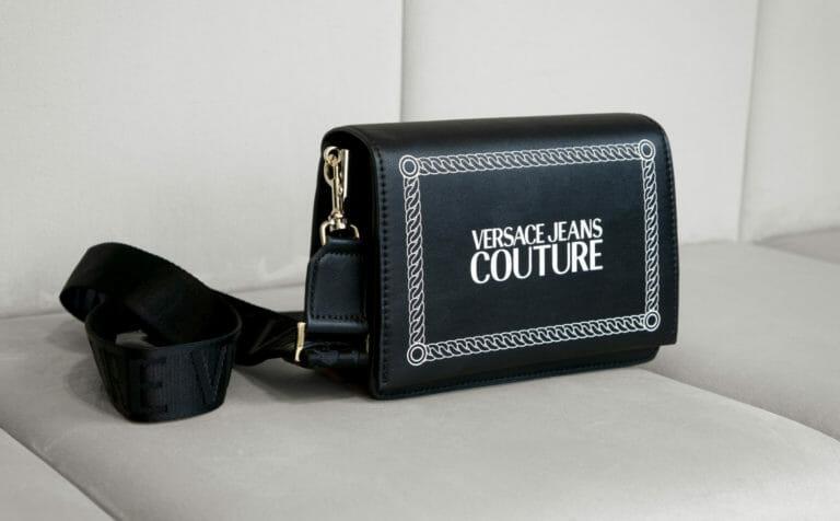 Torebka czarna versace jeans couture 1