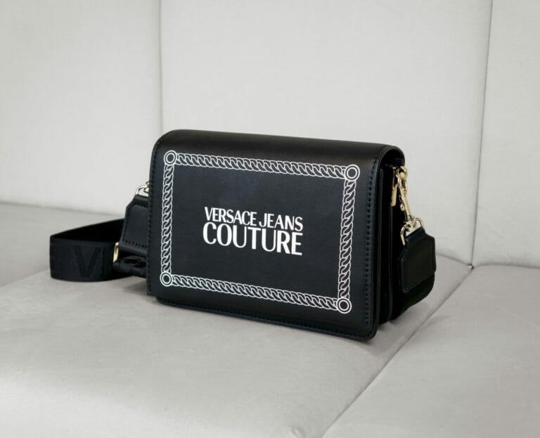 Torebka czarna versace jeans couture 3
