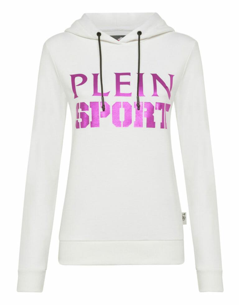 biala bluza damska plein sport 2