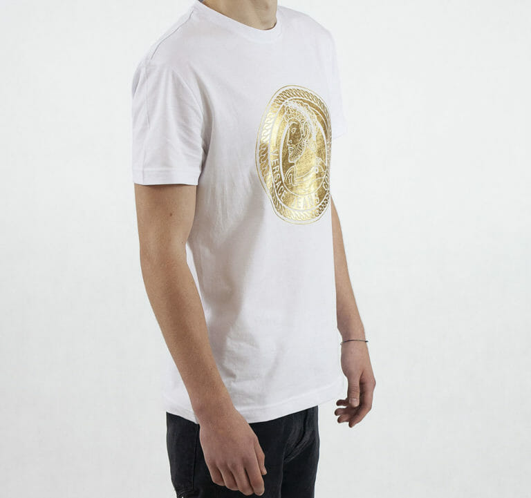 bialy t shirt versace jeans couture meski 1