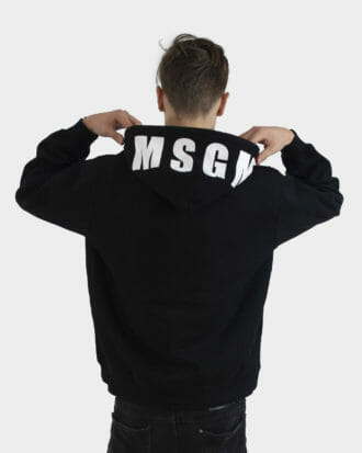 czarna bluza meska msgm