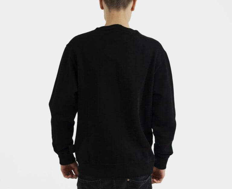 czarna meska bluza versace jeans couture 2