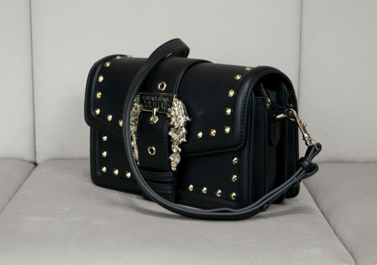 czarno zlota torebka versace jeans couture 1
