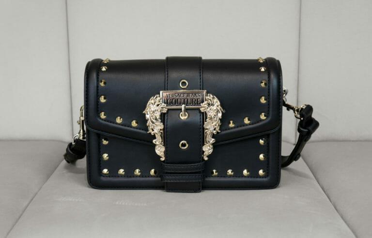 czarno zlota torebka versace jeans couture 2