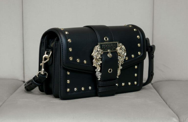 czarno zlota torebka versace jeans couture 4
