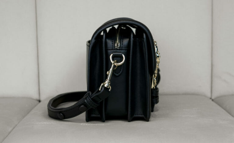 czarno zlota torebka versace jeans couture 5