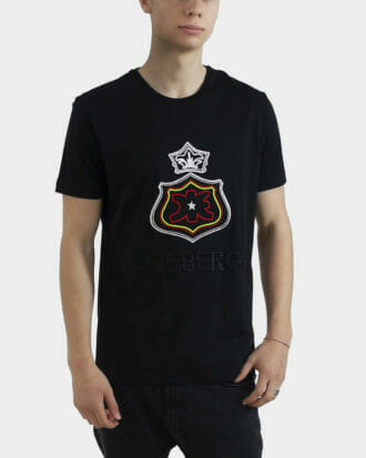 czarny t shirt meski iceberg 2
