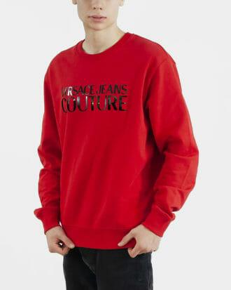 czerwona bluza meska versace jeans couture 1