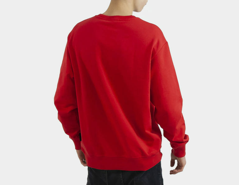 czerwona bluza meska versace jeans couture 2