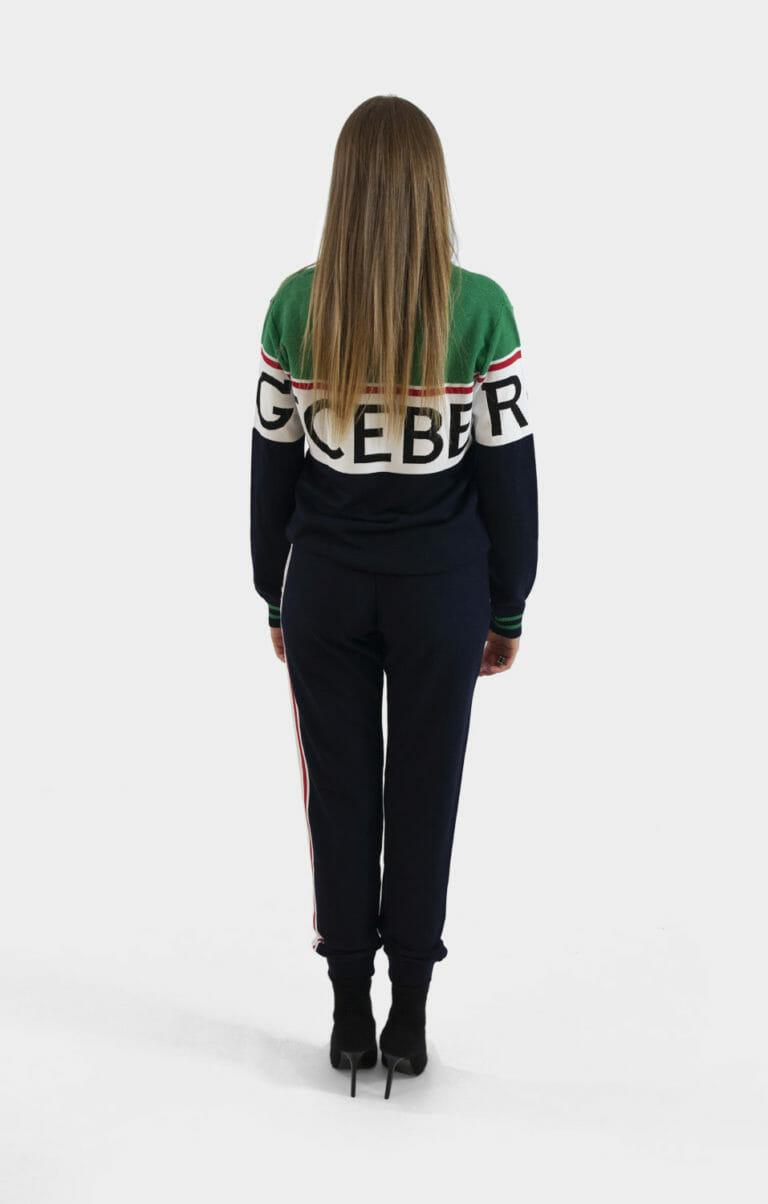 iceberg zestaw damskie spodnie i sweter