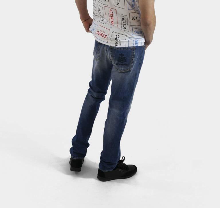 meskie iceberg jeansy