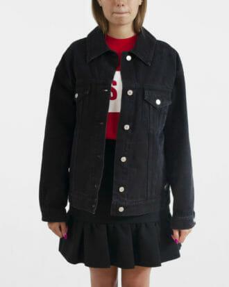 msgm jeansowa kurtka damska denim 2