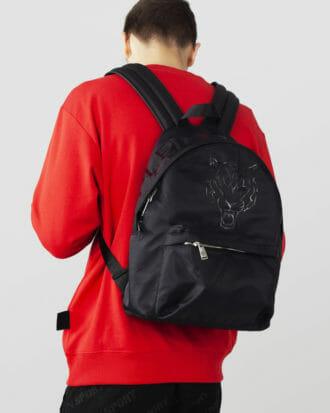 plecak czarny plein sport 2