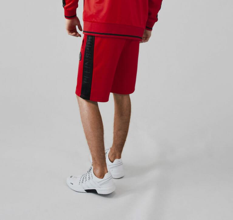 plein sport bluza czerwony dres spodenki 3