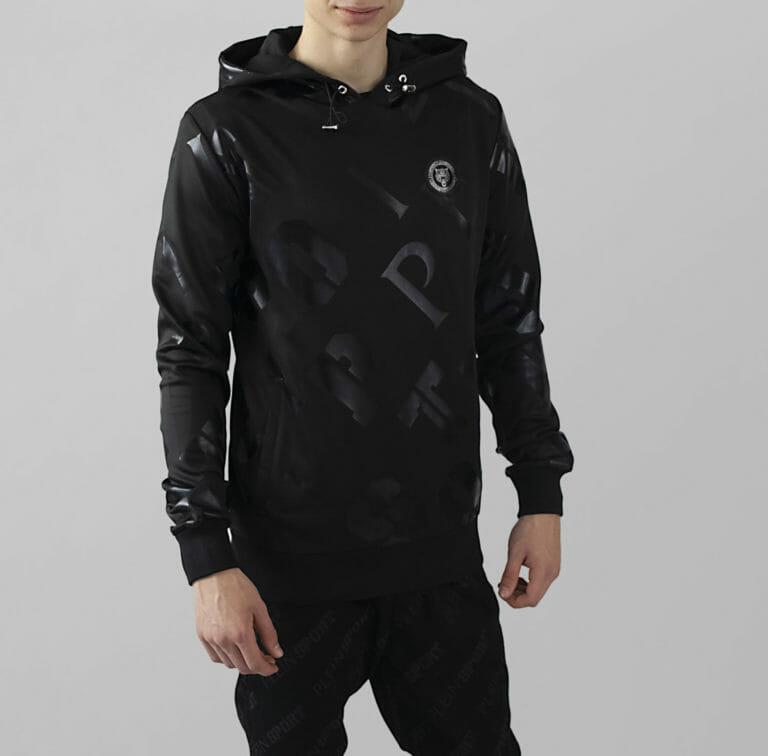 plein sport bluza meska z printem w logo 3