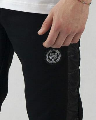 spodnie dresowe plein sport czarne 1