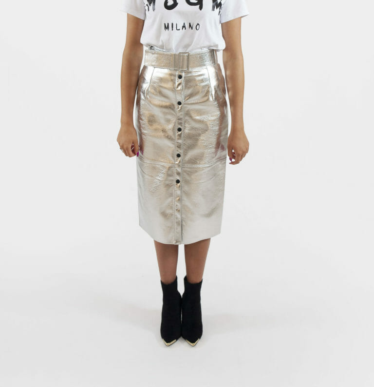srebrna spodnica msgm 4
