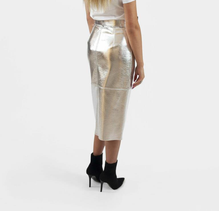 srebrna spodnica msgm
