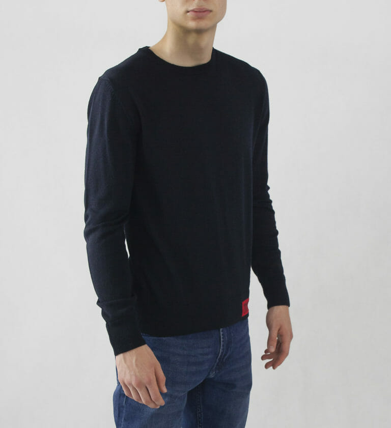 sweter versace jeans couture granatowy meski 3