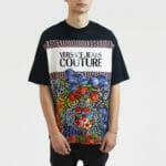 T-shirt z printem - Versace Jeans Couture