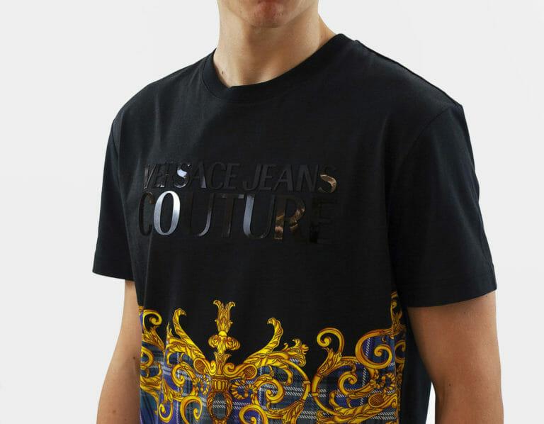 t shirt meski versace jeans couture z logo