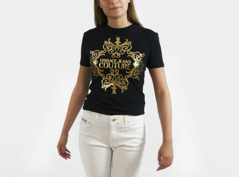 t shirt versace jeans couture damski